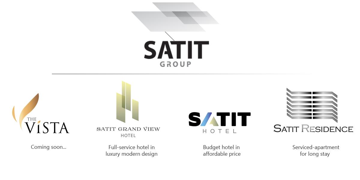 Satit Group, Satit Hotel, Satit Grand View hotel, The vista, Satit Residence